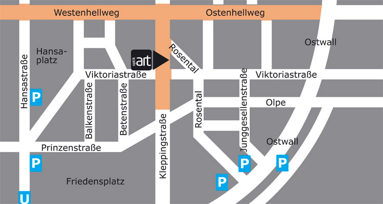 Kontakt – Optik Art – Ihr Optiker in Dortmund